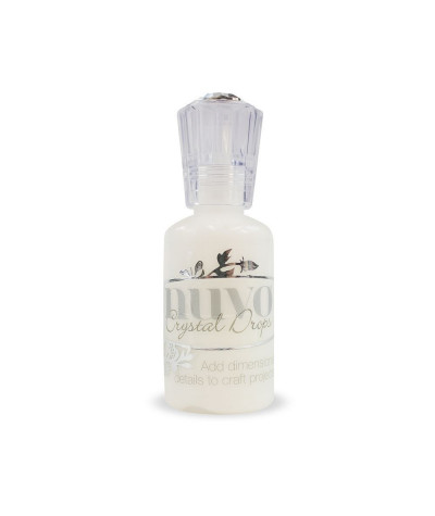 Encre Nuvo Crytal Drops Simply White