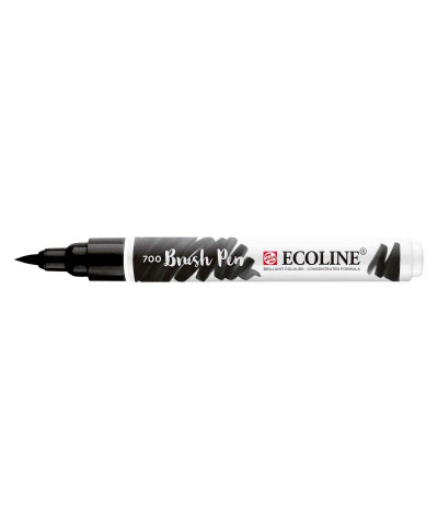 Feutre Ecoline brush-pen noir n°700