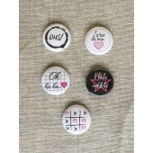 "Badges ""Girly"""