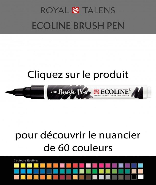 Feutre Ecoline brush-pen 700