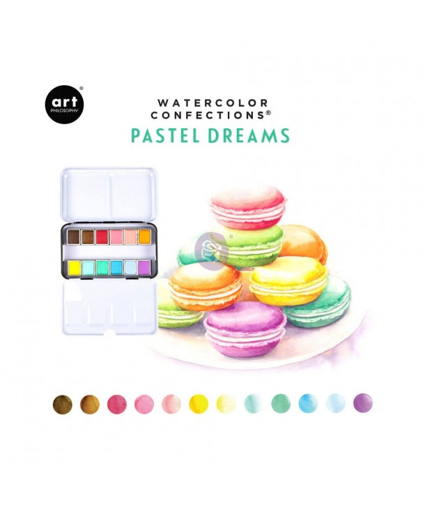 Palette aquarelle Confections Pastel Dreams