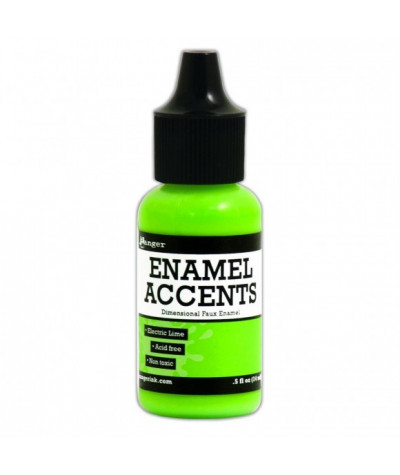Enamel Electric lime