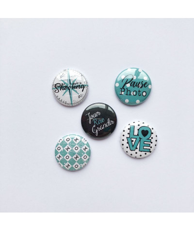"Badges ""Pois"""