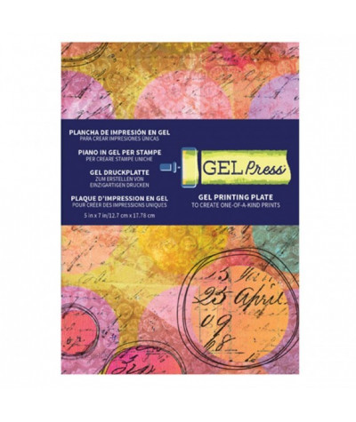 Plaque Gel press