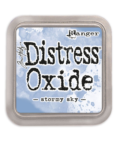 Distress oxide Stormy sky