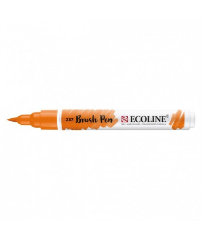 Feutre Ecoline brush-pen Orange Foncé n°237