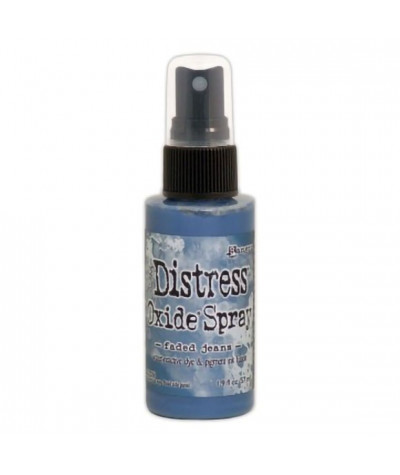 Distress Oxide Spray Faded Jeans