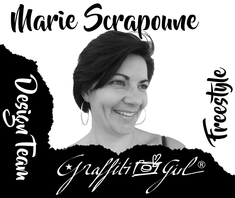 Marie scrapoune, freestyle, graffitigirl,