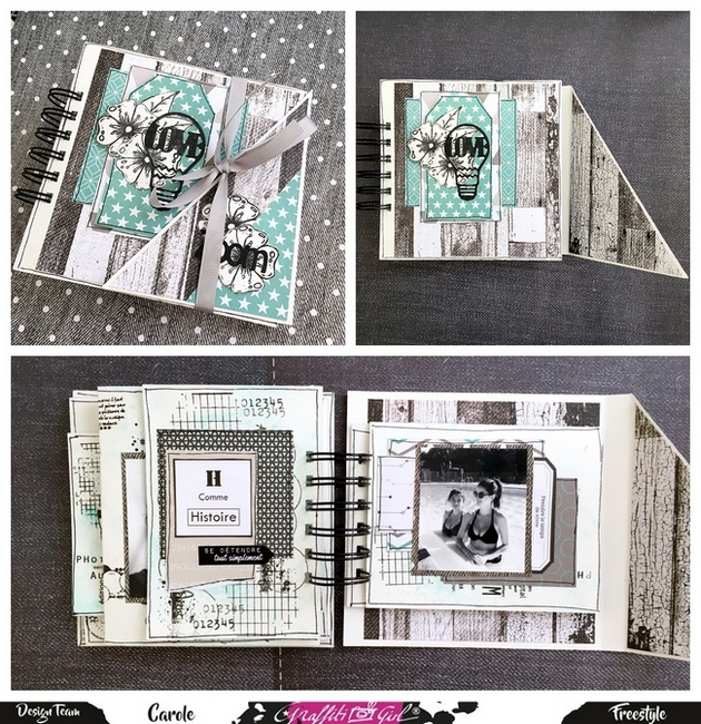 Album complet de scrapbooking Géomavie